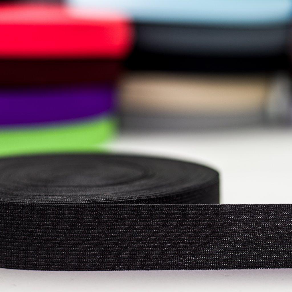 guma pruženka černá