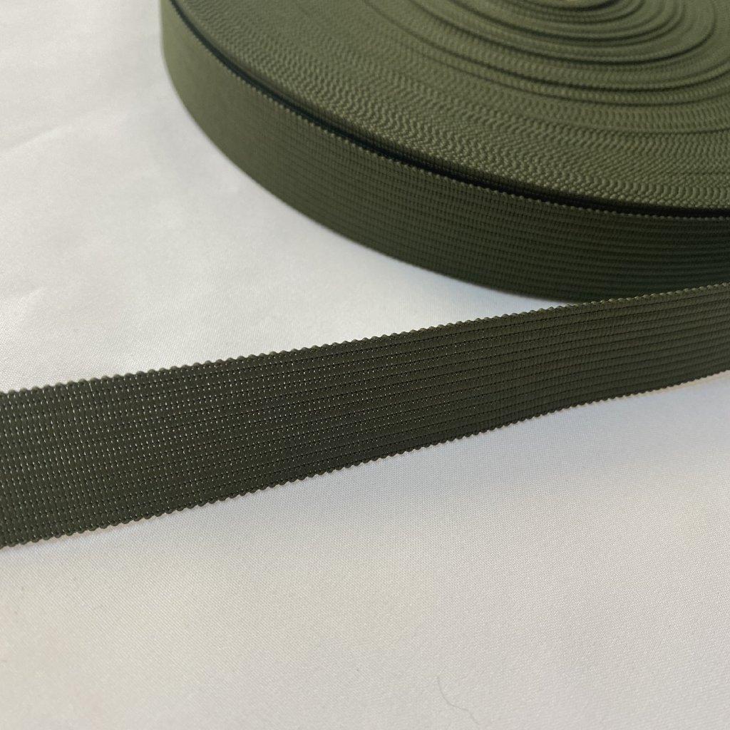 400906 lemovka silonová 2cm khaki (1)
