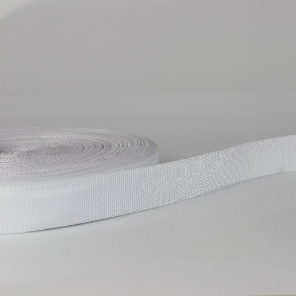 popruh 20mm - bílá