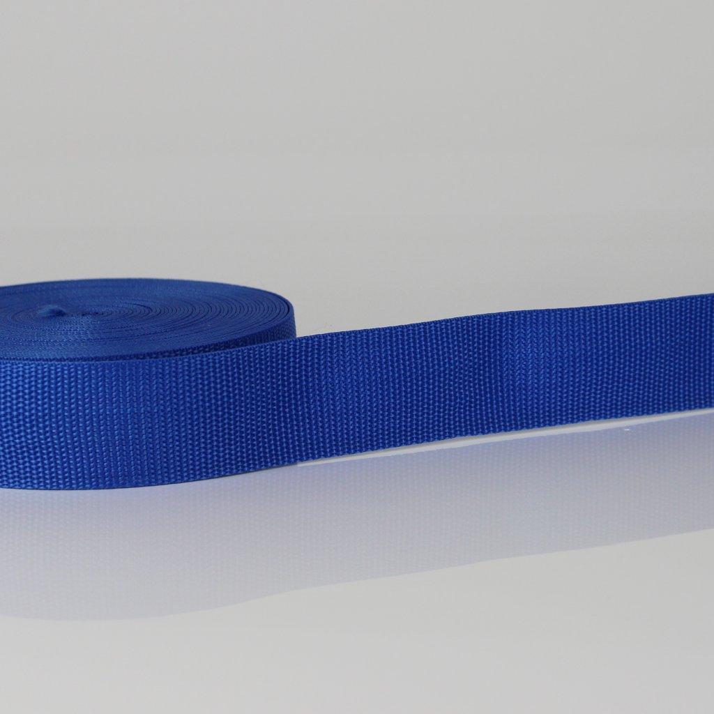 popruh 20mm - modrá 340