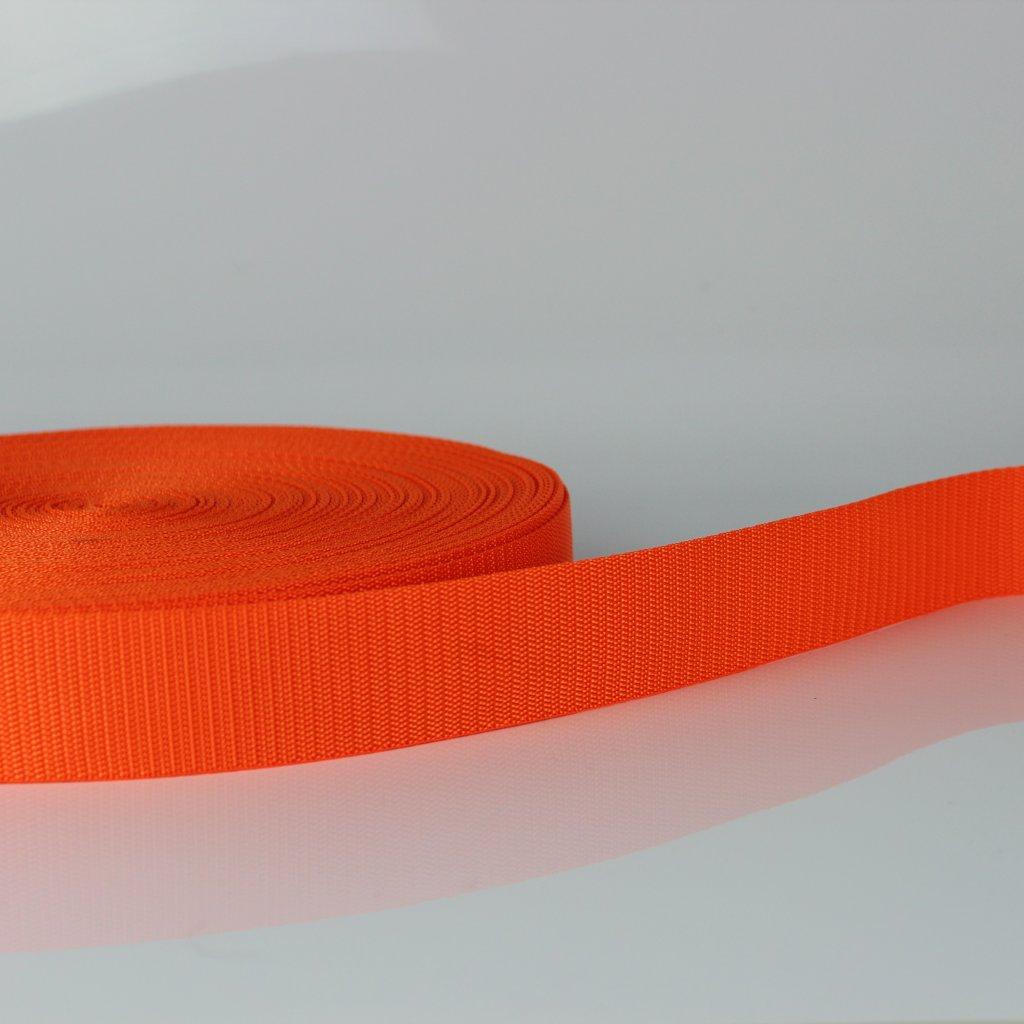 popruh 40mm - reflexní oranžová