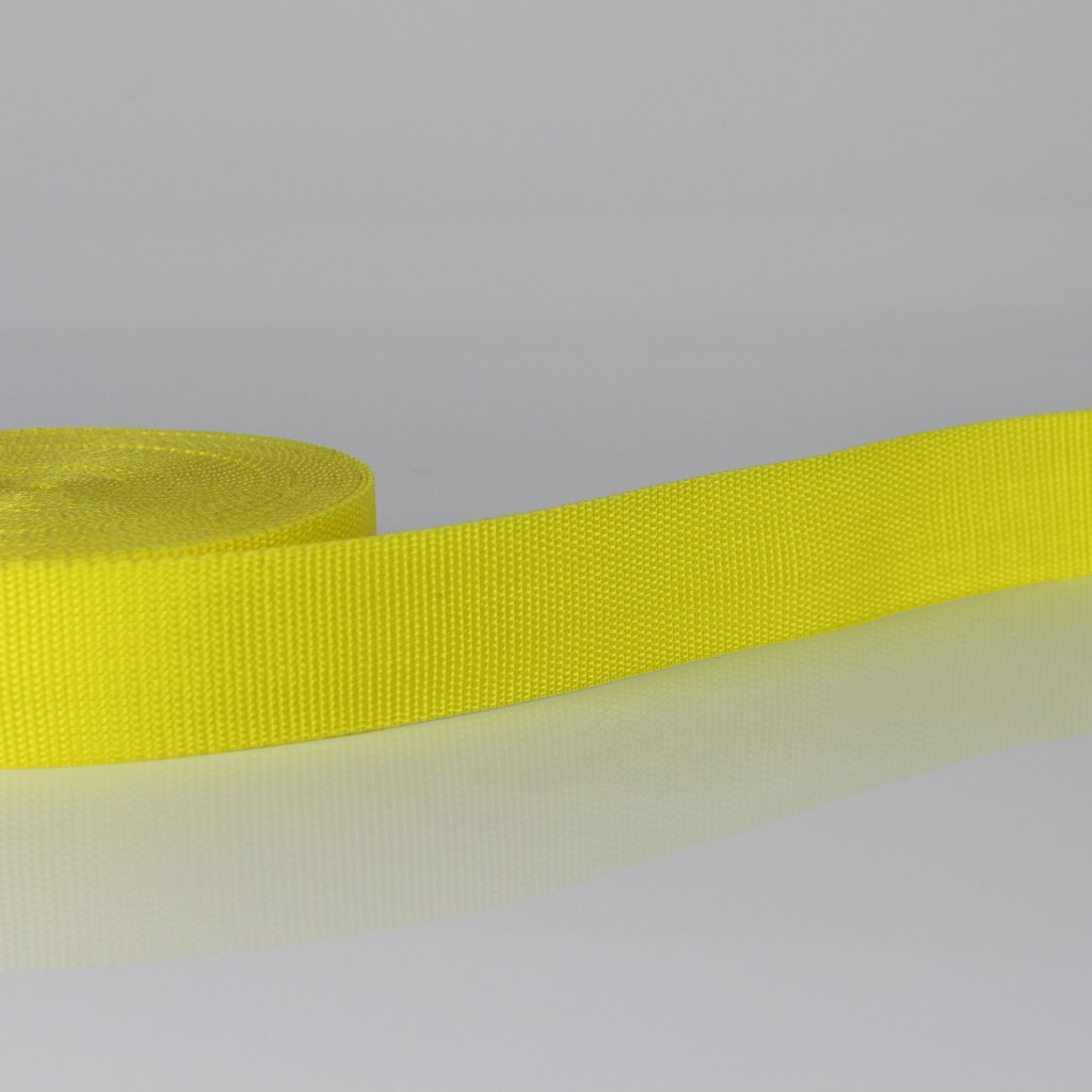 popruh 30mm - žlutá 110