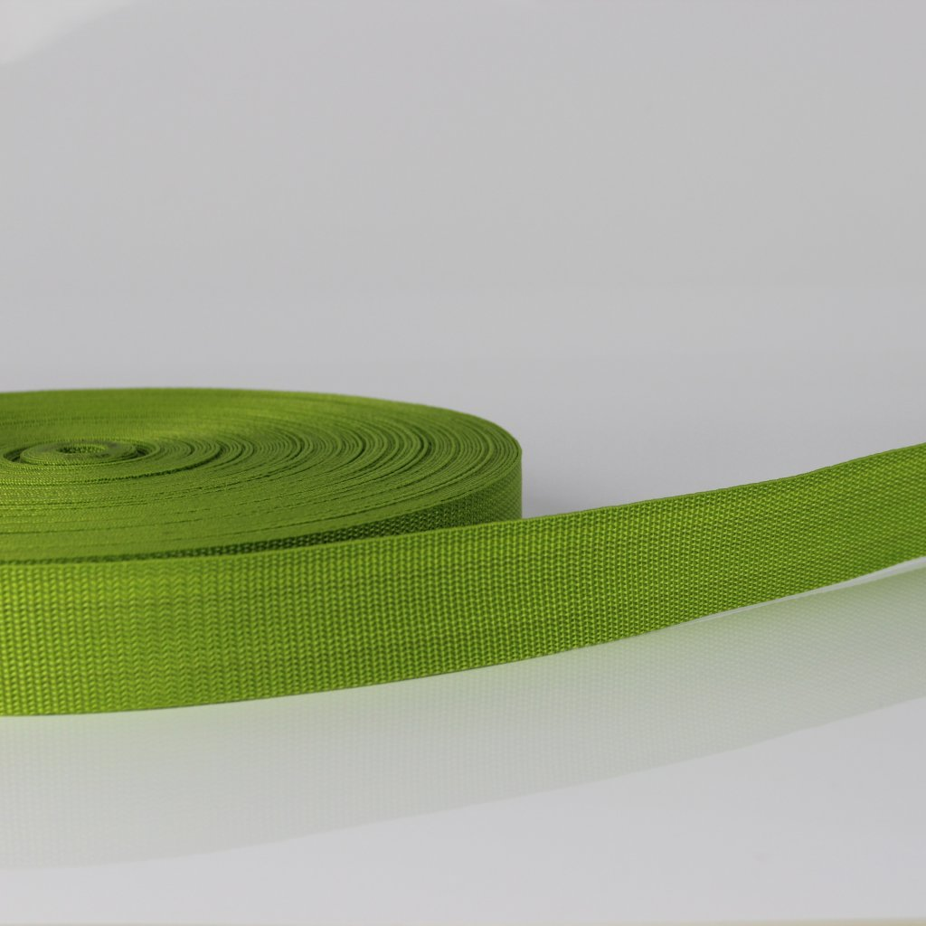 popruh 30mm - zelená 234