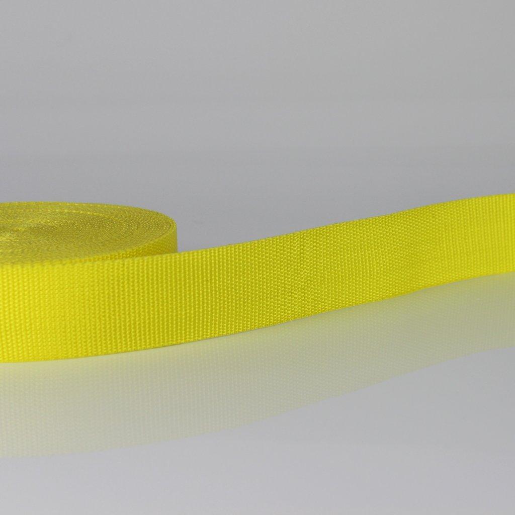 popruh žlutá 110