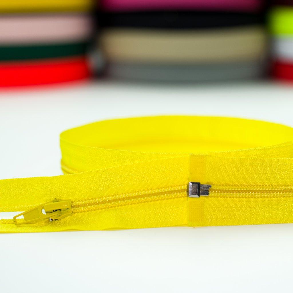 zip spirála No5 dělitelný žlutá 110