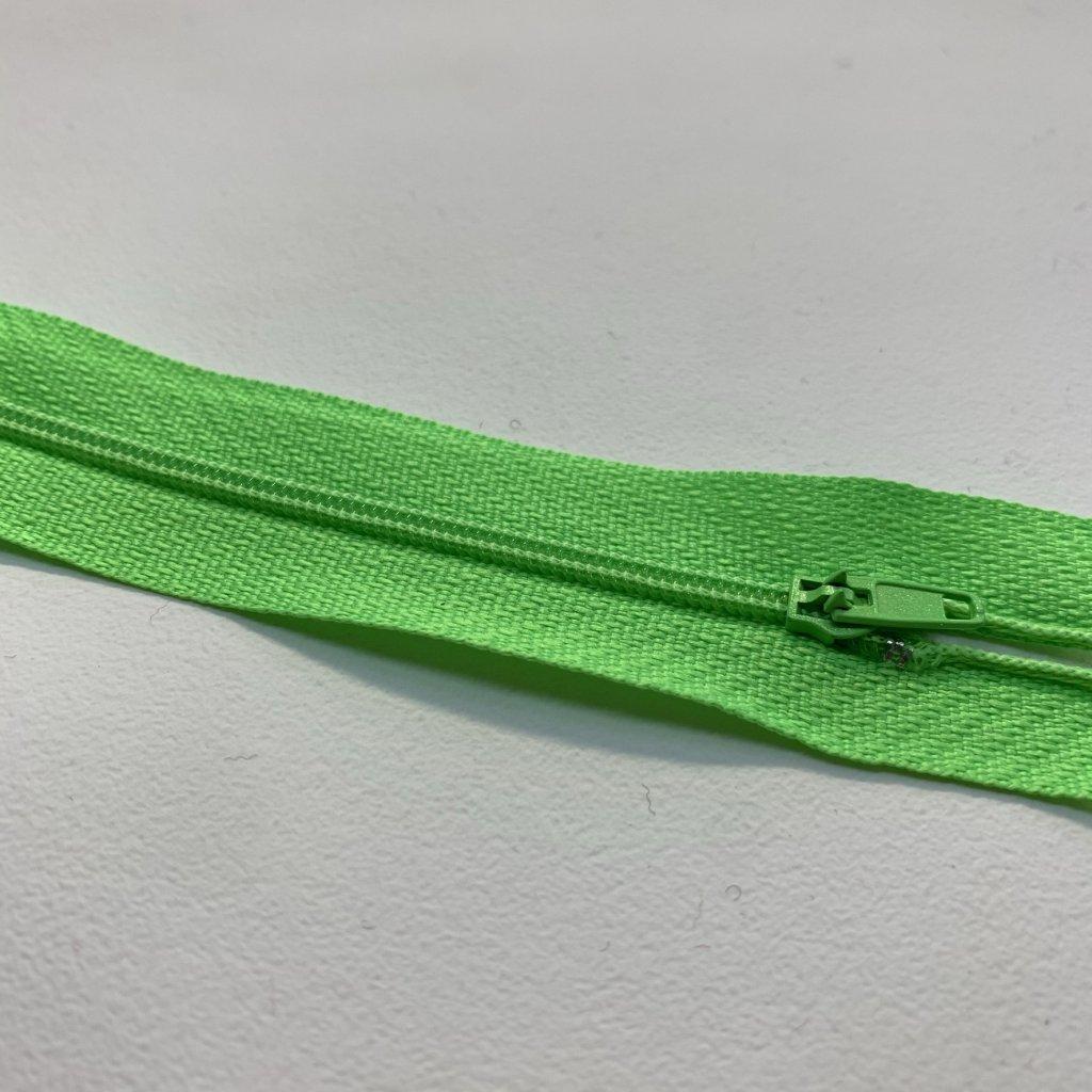 zip spirála No3 reflex zelená