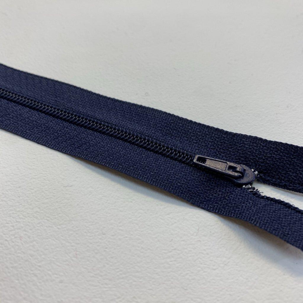 zip spirála No3 modrá navy 340