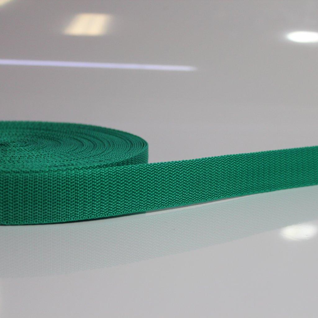 DOPRODEJ popruh 25mm světle zelená 400202 (1)