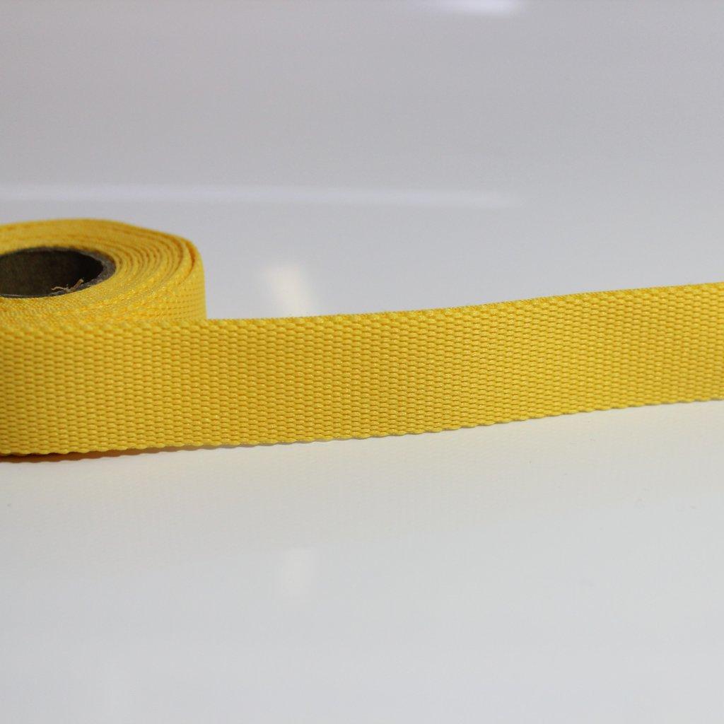 DOPRODEJ popruh lemovací tmavě žlutá 1376 400710