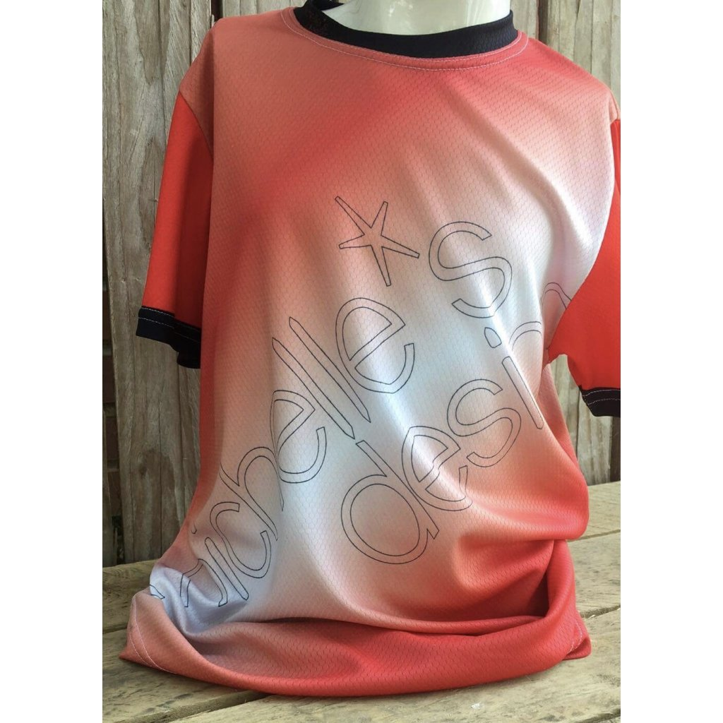 funkční tričko Rainbow Red 500207 (1)