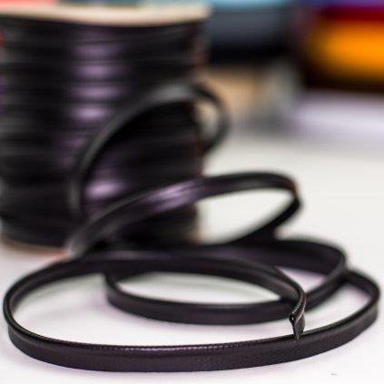 paspule kožená černá