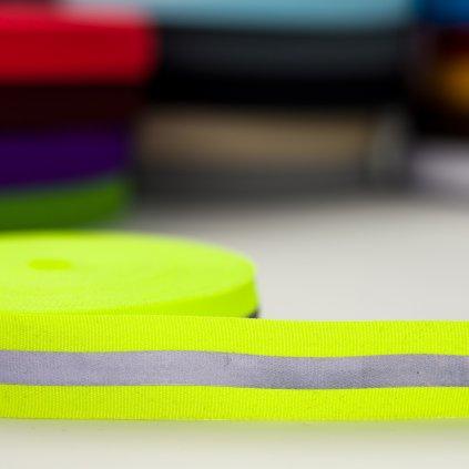 reflexní pásek žlutý