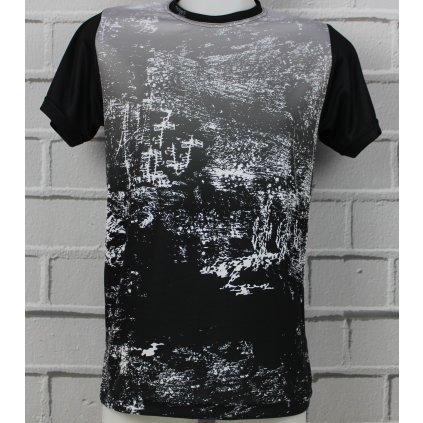 funkční tričko scratch gray