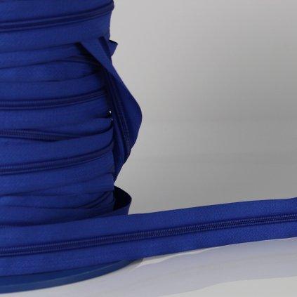 zip nekonečný No5 modrý středně 250109