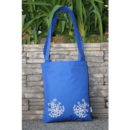 nákupní taška folklór modrá 450309