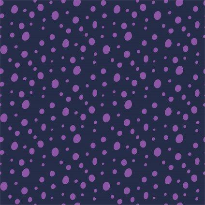 748183 PUNTÍK crazy fialový na modré