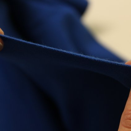 teplákovina/úplet s elastanem 290g - bílá