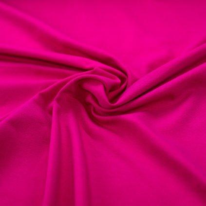 160314 teplákovina nepočesaná tmavě růžová (1)