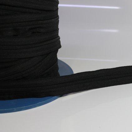 zip spirálový nekonečný No3 - černá
