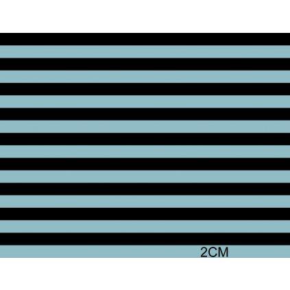 746011 pruhy černo šedé 2cm