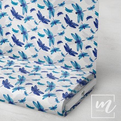 770021 vazky modré by Jana by Jana látka