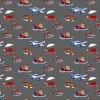 baby boy 745002_3_vozidla na šedé (vyberte materiál zimní softshell elastický (šíře 150cm) 280g  10000/10000)