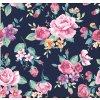 726004 2 květy na tmavě modré