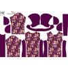 bunda dětská 765157 lesní zvířátka Caramila klasik rukáv