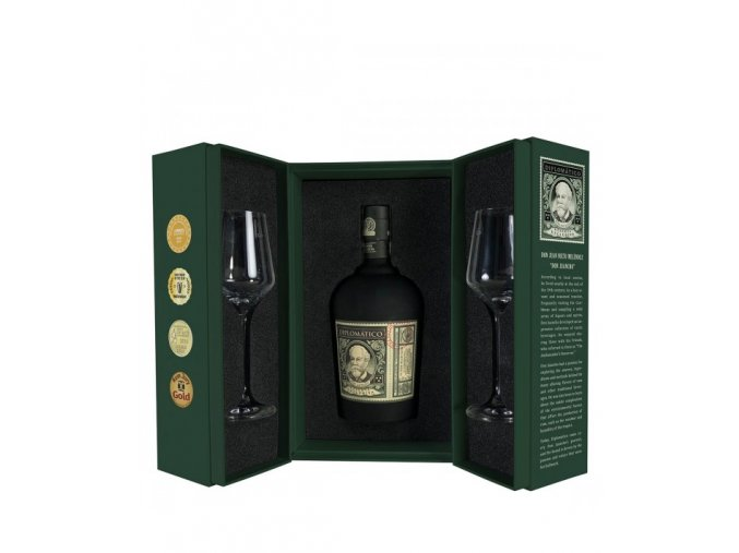 2797 Diplomatico Reserva Exclusiva Perfect Ritual Pack front open 600x711