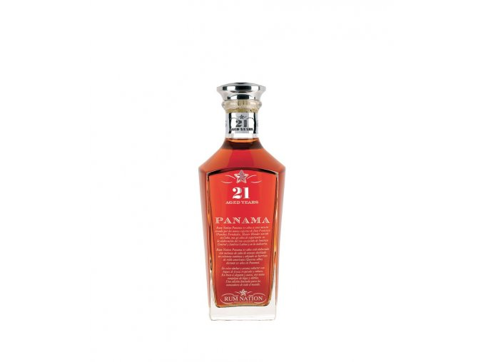 0906 rum nation 21 yo panama new