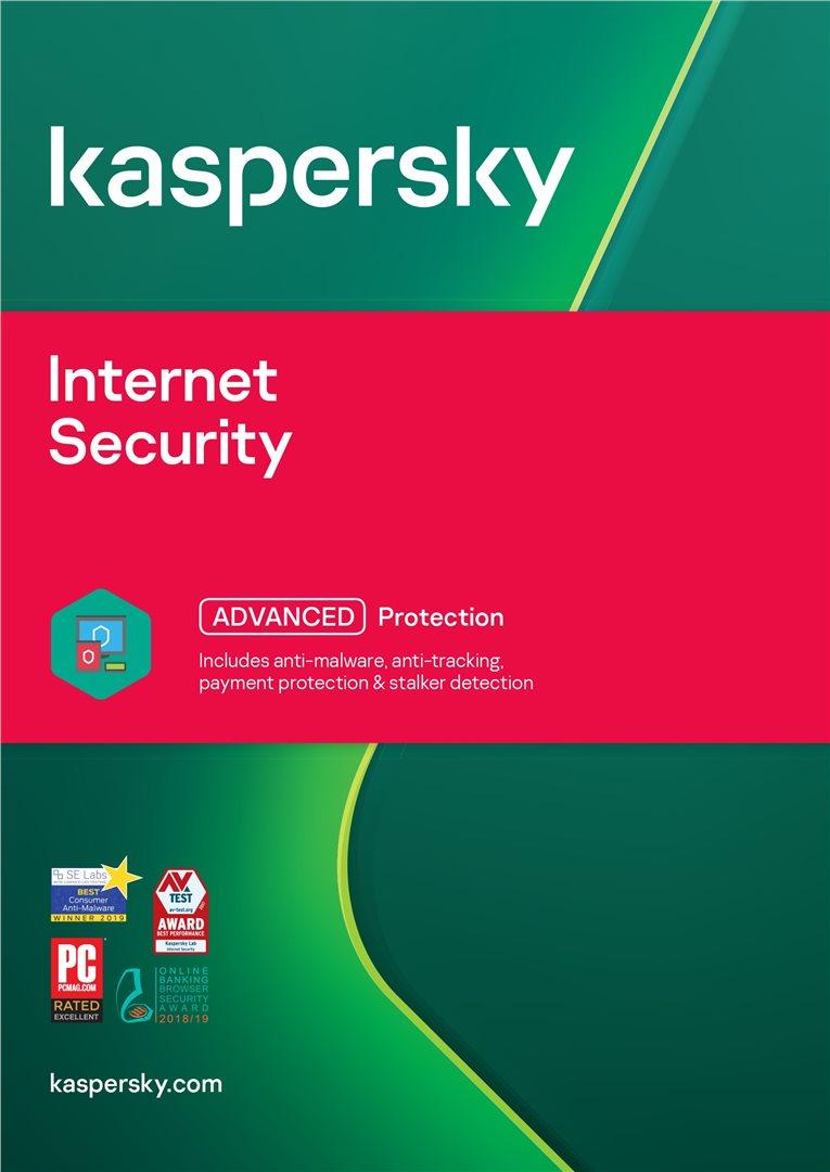 Kaspersky Internet Security Počet zařízení: 1, Předplatné: 1 ROK