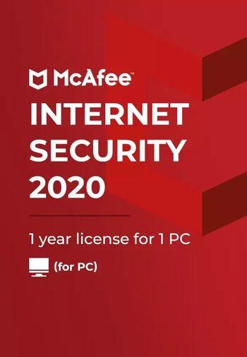 McAfee Internet Security Počet zařízení: 3, Předplatné: 1 ROK