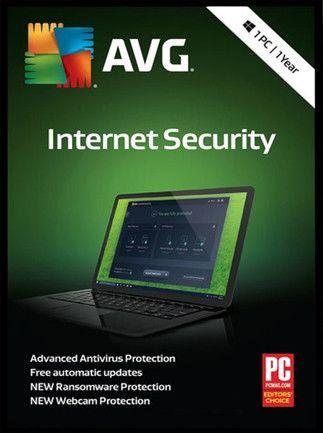 AVG Internet Security Počet zařízení: 1, Předplatné: 1 ROK