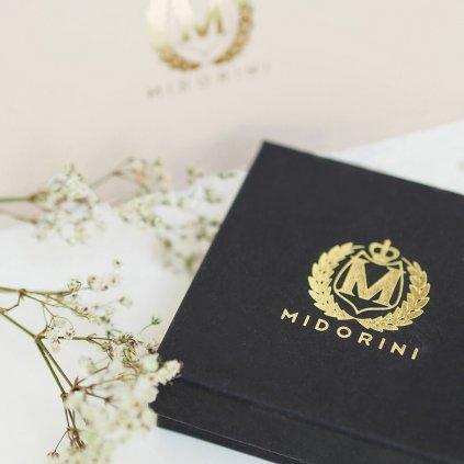 personalizovaný náramek na šňůrce, rose gold srdíčko