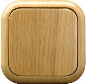 Dřevěné zásuvky a vypínače