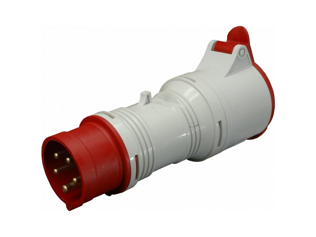 A 1653/43 Adaptér 400V 5P/4P 16A IP44 SEZ