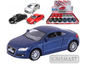 KINSMART Auto Audi TT 2008 Coupe kovové 13 cm 4 barvy MODEL