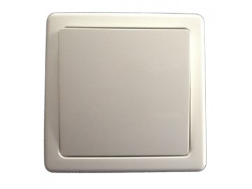 Spínač jednopólový komplet - jasně bílá 3557G-C01340 B1