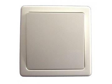 Přepínač střídavý komplet - jasně bílá 3557G-C06340 B1