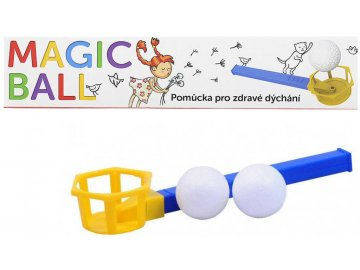 SEVA Magic ball 7708 foukací hra s míčkem