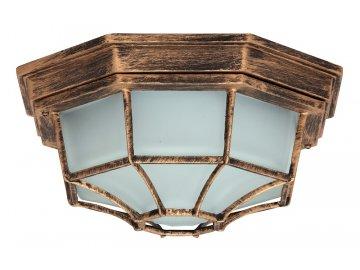Venkovní přisazené svítidlo Milano, antická zlatá Rabalux 8376