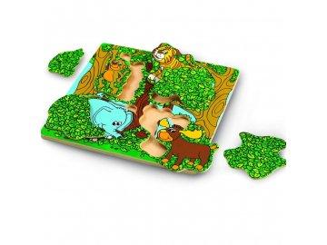 Wonderworld Dřevěné puzzle Píkabú