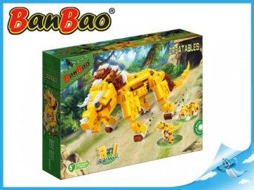 BanBao Postav si zvíře 3v1 lev 328ks