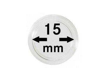Kapsle na mince 15 mm
