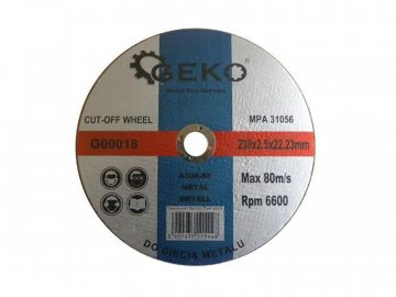 Kotouč řezný GEKO G00018 230mm