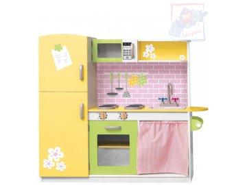OLYMPTOY DŘEVO Dětská kuchyňka (kuchyň) dřevěná LILY nový design