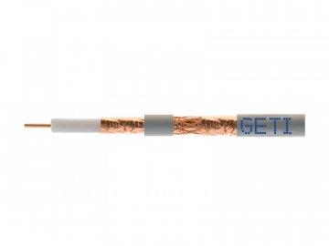 Koaxiální kabel Geti 413CU PVC 1m