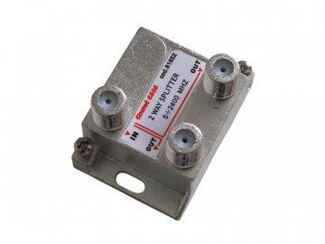 Anténní rozbočovač PV2 (2výstupy) - Emme Esse