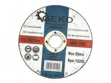 Kotouč řezný GEKO G00021 125mm