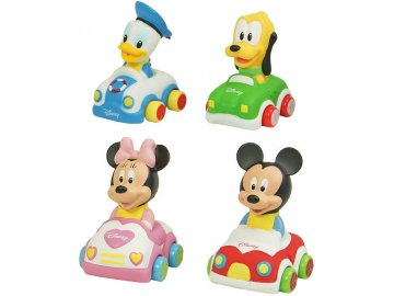 CLEMENTONI Baby autíčko Disney s figurkou různé druhy pro miminko